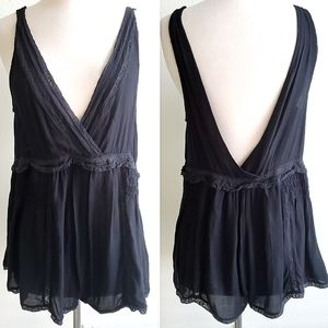Intimately Free People Open Back Babydoll Romper